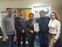 Вручення сертифікатів дистриб'юторам
